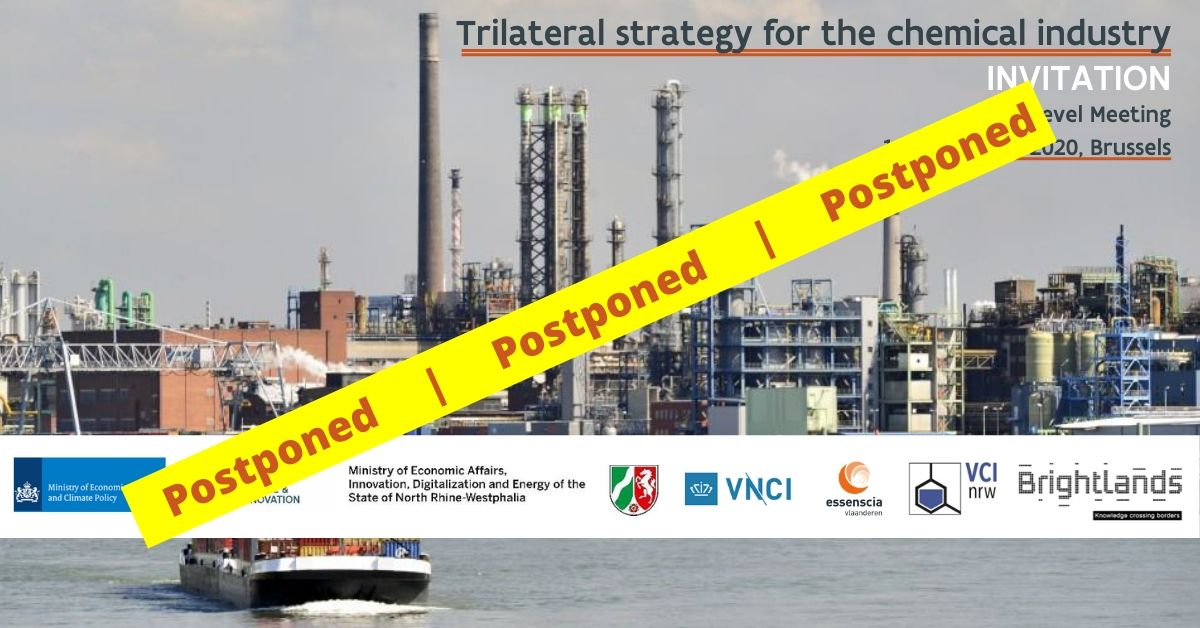 POSTPONED - Trilateral Strategy for the Chemical Industry - 2nd High Level Event