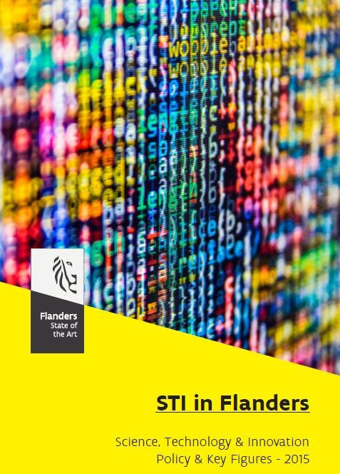 Cover Science, Technology and Innovation (STI) in Flanders – Policy and key figures
