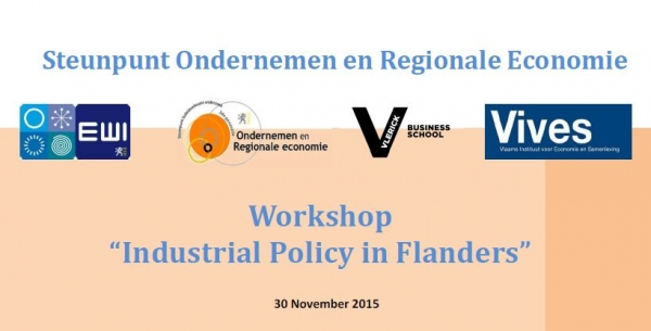 "Workshop ""Industrial policy in Flanders"" Store"