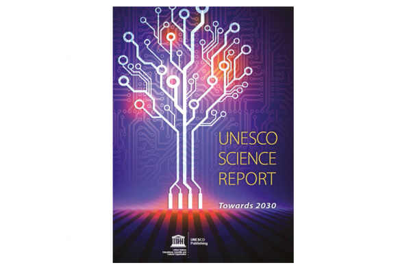 Cover Unesco Science Report: Towards 2030
